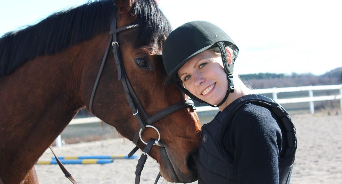 fotografering af hest og rytter